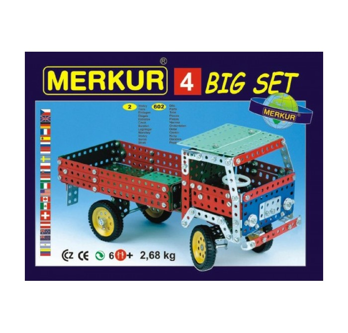 Merkur 4 big set 40 modelů